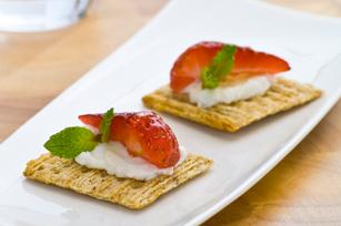 TRISCUIT au ricotta et à la fraise  Image 1