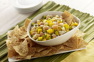 Tropical Fresh Fruit-Shrimp Ceviche