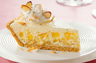 Tropical Pina Colada Pie