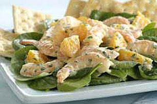 Tropical Shrimp Salad with Lime Dressing Image 1