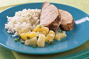 Tropical Spring Salsa with Pork