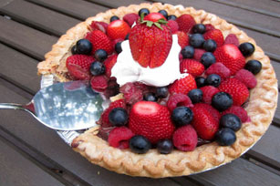 Truffle Berry Pie