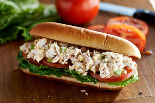 Tuna Salad Sub Sandwiches