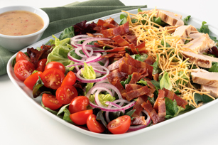 Turkey Bacon Bistro Salad Recipe 125631 on oscar mayer selects turkey nutrition