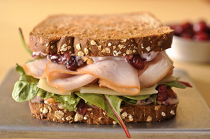 Turkey-Berry Sandwich