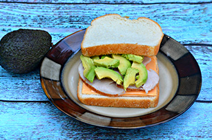 Turkey Cheese & Avocado Sandwich