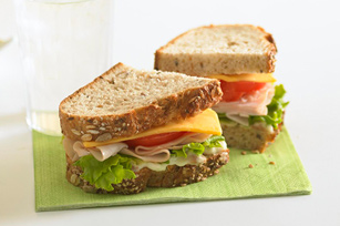 Sandwich « club » à la dinde