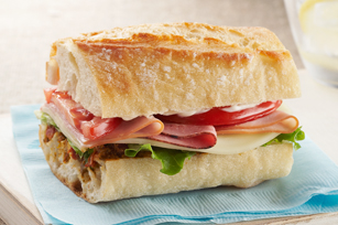 Turkey, Ham & Sun-Dried Tomato Sub Image 1