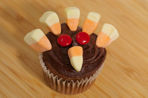 Turkey MALLOW Cupcakes Image 1
