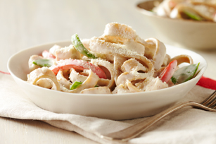 Turkey & Vegetable Alfredo