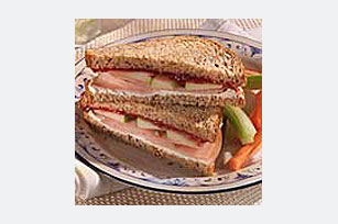 Turkey Crunch Sandwich Image 1