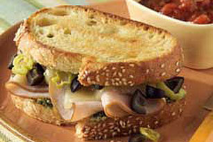 Turkey Italiano Sandwich