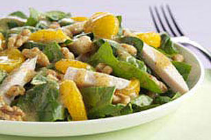 Turkey Mandarin Walnut Salad