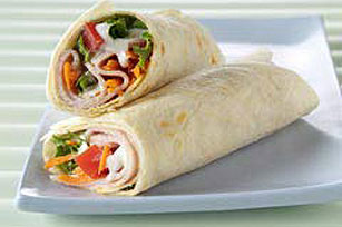 Turkey Salad Wrap Image 1