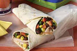 Turkey Wrap with Southwestern Relish
