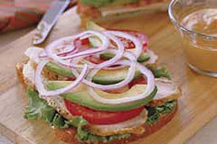 Turkey and Avocado Sandwich Image 1