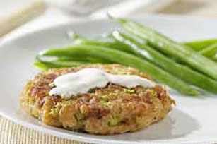 Turkey and Stuffing Cakes