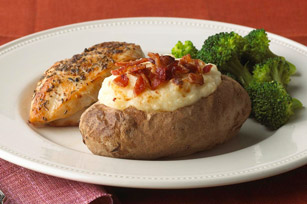 Twice-Baked Potatoes with Bacon Image 1