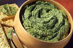 Two-Cheese Pesto Spread