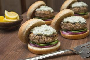 Burgers au tzatziki Image 1