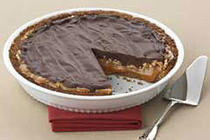 Ultimate Chocolate Caramel Pecan Pie Image 1