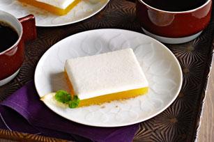 Upside-Down Lemon Meringue Dessert