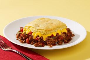 VELVEETA Cheesy Chili Cornbread Casserole Image 1