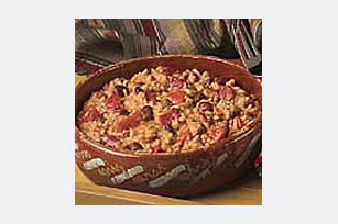 VELVEETA® 20 Minute Cheesy Chili 'N Rice Skillet Image 1