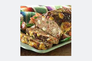 VELVEETA® Cheesy Southwest Meatloaf Image 1