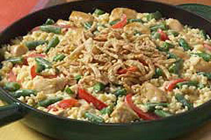 VELVEETA® Chicken and Vegetable Skillet Image 1