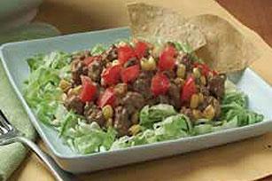 VELVEETA Easy Beef Taco Salad Image 1