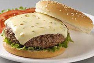 VELVEETA Jalapeno Stuffed Burgers