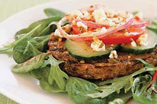 Vegetable Lover's Burger Image 1