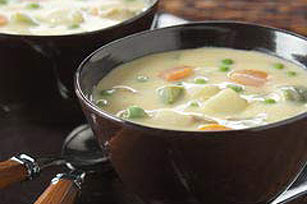 Vegetable and Cheese Chowder