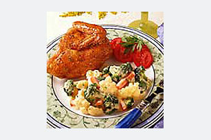 Vegetables in Cream Sauce Image 1
