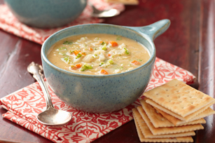 Velvety Vegetable-Cheese Soup Image 1