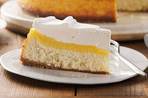 Very Vanilla Custard-Topped Cheesecake Image 1