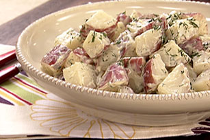 Warm Garlic & Dill Potato Salad Image 1