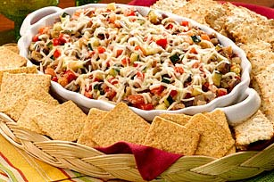 Warm Italian Vegetable & Cheese Dip Image 1