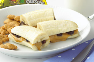 Warm Peanut Butter Banana