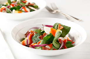 Warm Spinach Salad Recipe Image 1