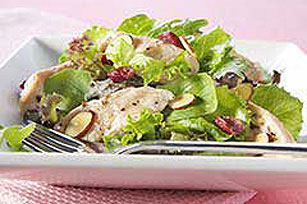 Warm Chicken and Cranberry Salad