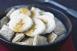 Warm Maple Banana Cereal
