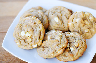 White Chocolate and Macadamia Nut Cookies
