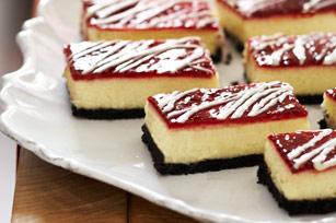 White Chocolate-Raspberry Cheesecake Bars