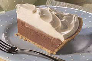 White Chocolate Devil's Food Pie