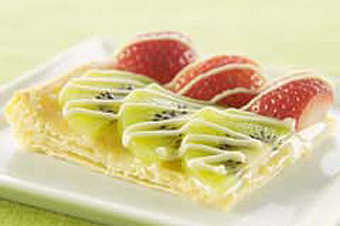 White Chocolate-Fruit Tart