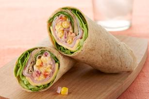 Sandwich roulé de style Wild West