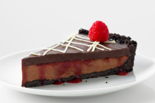 Winter Berry Chocolate Tart