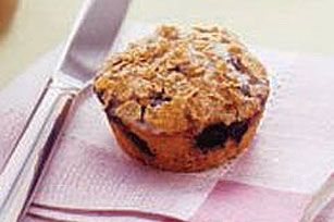 Workday Raisin Bran-Berry Muffins